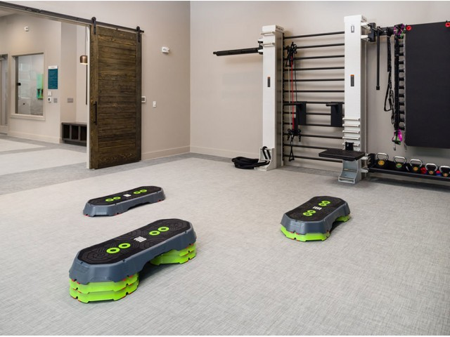 Image of 24-hour yoga and spin studio with Fitness On-Demand technology for Boterra Bay