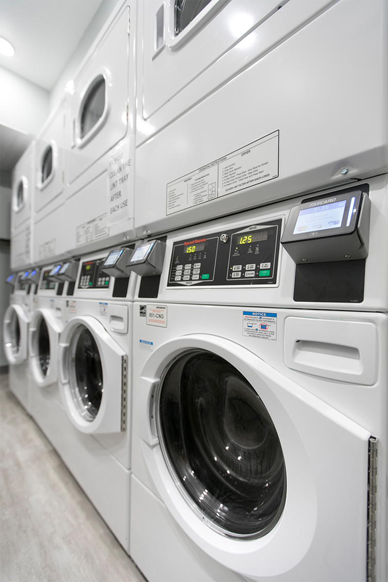 community laundry facilities