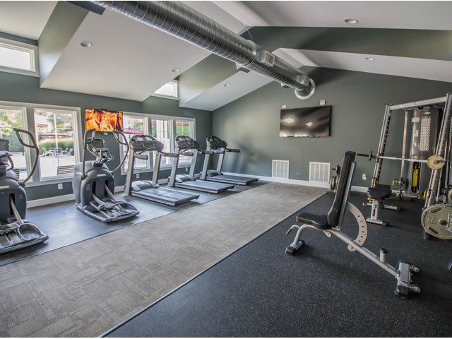 Image of Fully Equipped Fitness Center for Arbors of Anderson