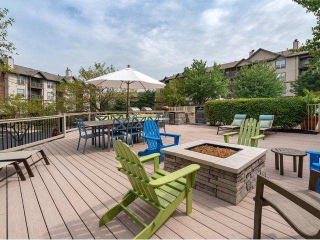Image of Four Seasons Firepit for Liberty Pointe Apartment Homes on Highland