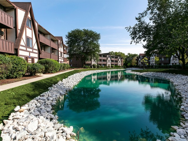 Image of Professionally Landscaped Community with 8 Tranquil Pond Views for Westmont Village Apartments