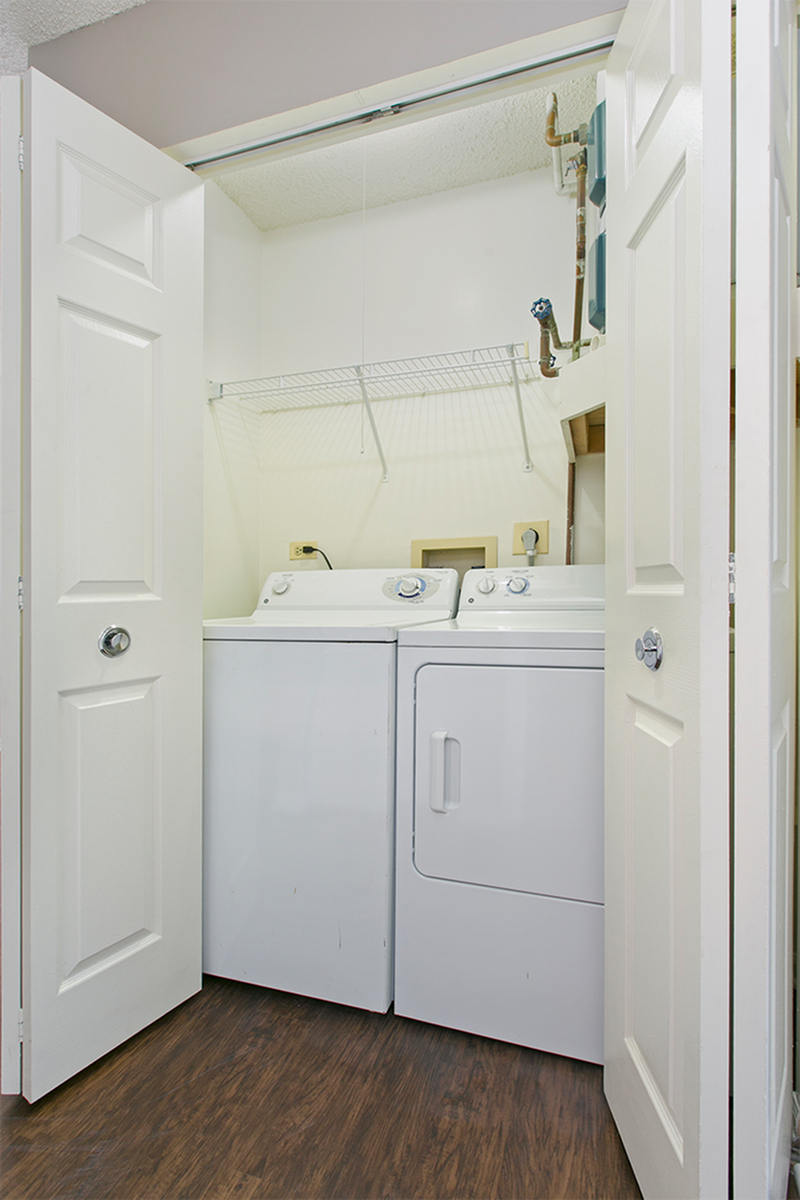 in-unit washer and dryer