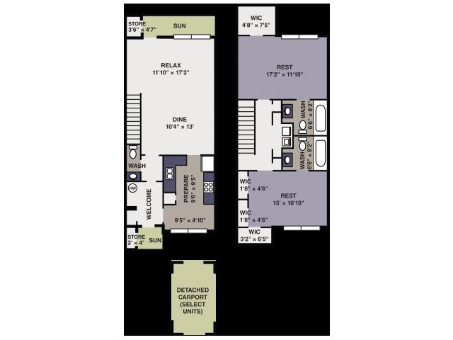 Apex Apartment Floor plan