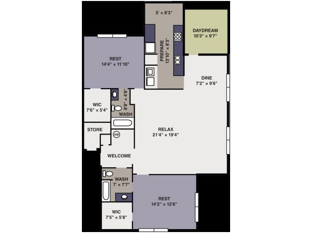 Floor Plans at Avalon Peaks