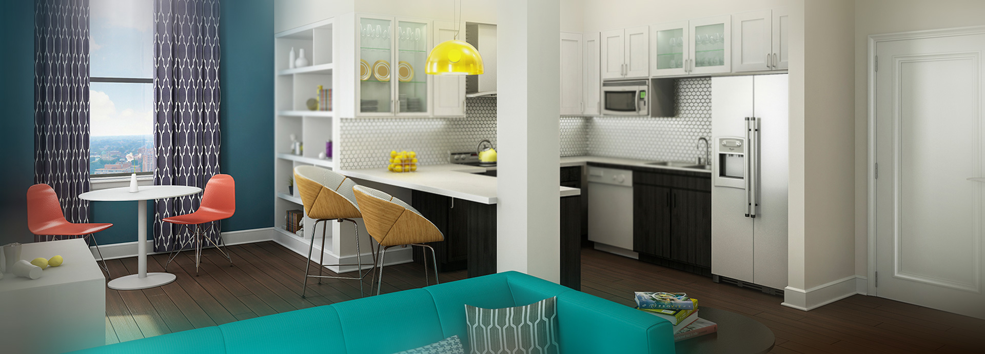Community Space | Deco at CNB Apartments| Richmond Apartment Homes