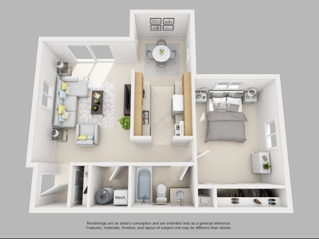 Four Seasons Yorktown Floor Plan