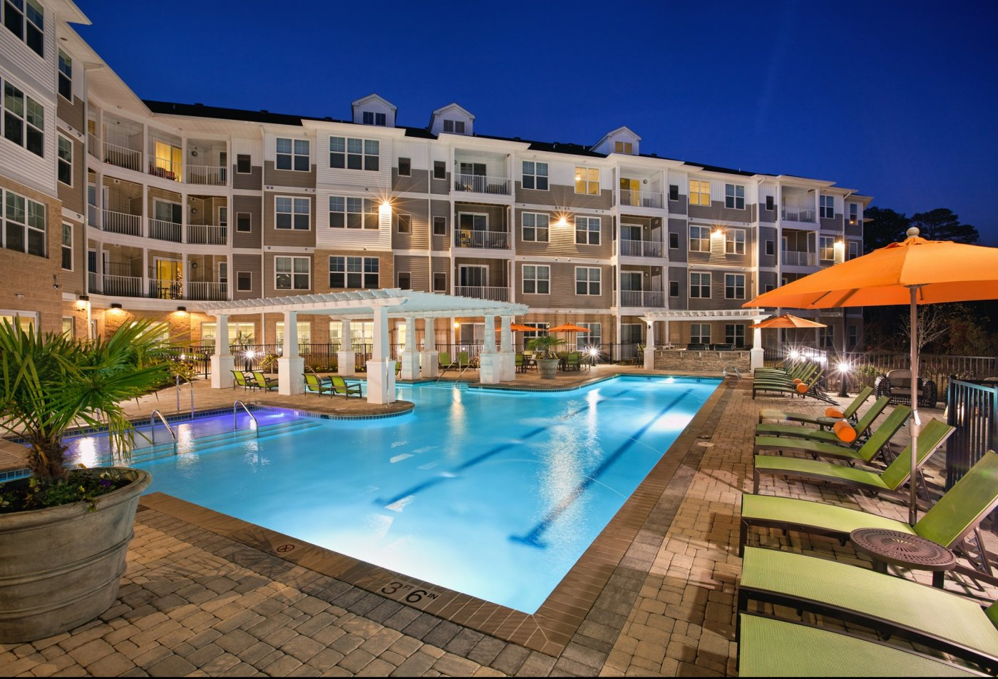 Swimming Pool At Solace 6; Apartments ...