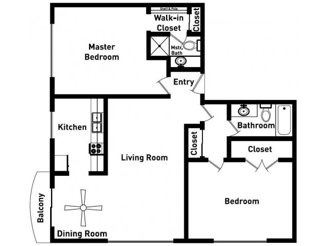 Floor Plan 4 | Sunset Plaza2