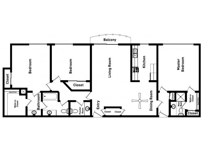 Floor Plan | Sunset Plaza4