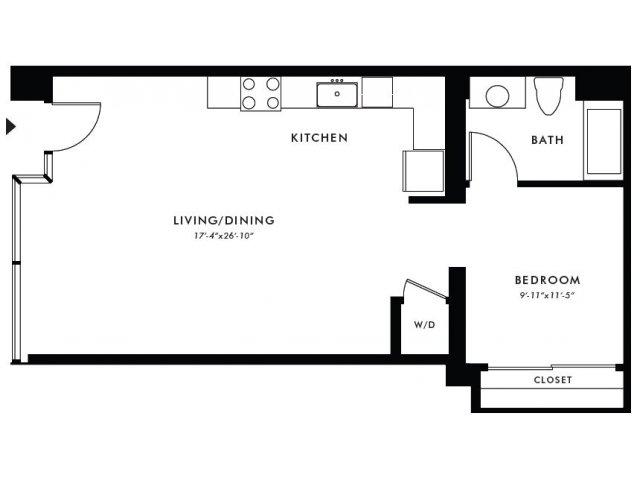 Floor Plan | Edison 4