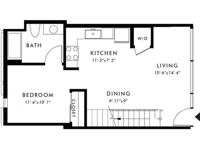 Floor Plan | Edison 13