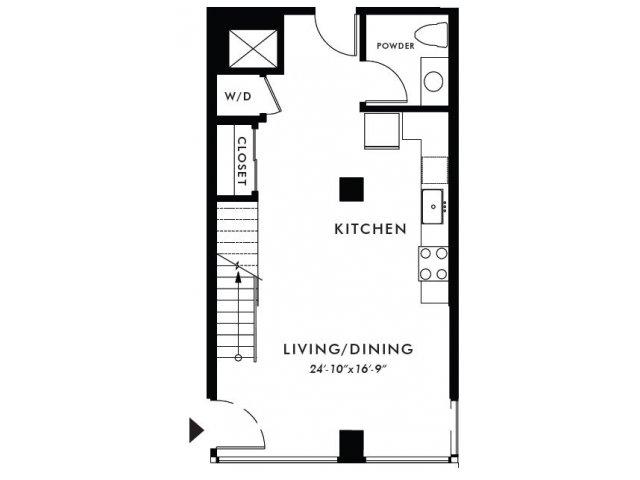 Floor Plan | Edison 22
