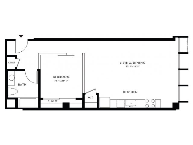 Floor Plan | Edison 28