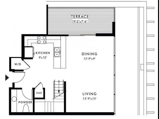 Floor Plan | Edison 42