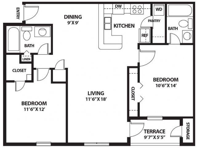 Floor Plan 9 | Port Royale