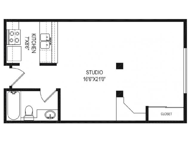 Floor Plan | Vida Hollywood