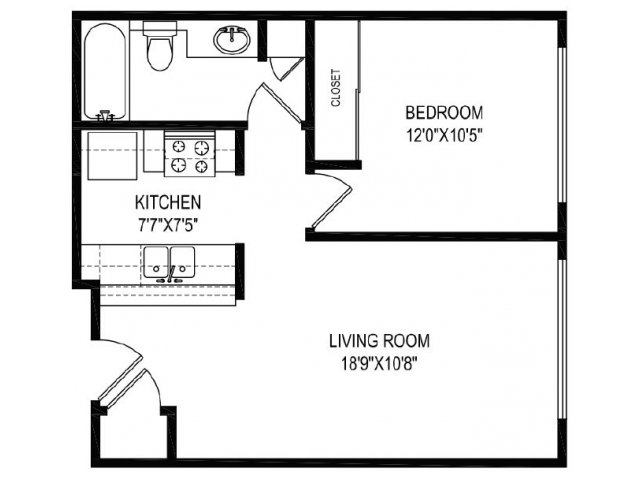 Floor Plan 4 | Vida Hollywood