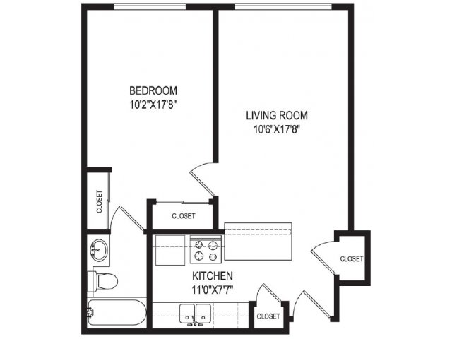 Floor Plan 5 | Vida Hollywood