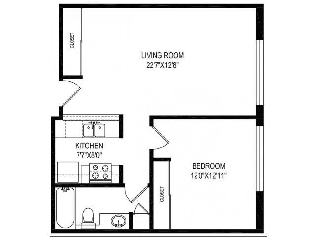 Floor Plan 6 | Vida Hollywood
