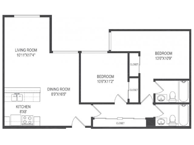 Floor Plan 2 | Vida Hollywood2