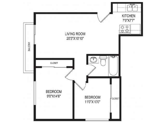 Floor Plan | Vida Hollywood1
