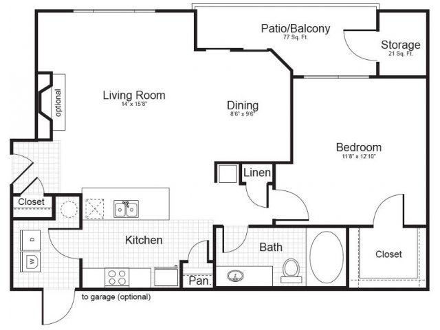 Floor Plan 3 | Addison Park
