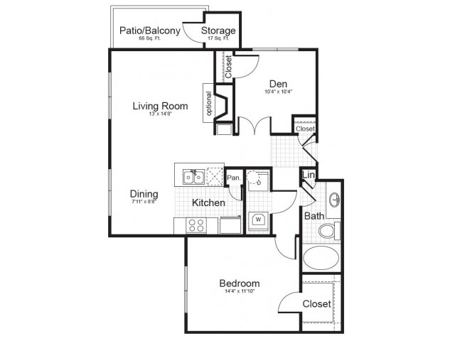 Floor Plan 6 | Addison Park