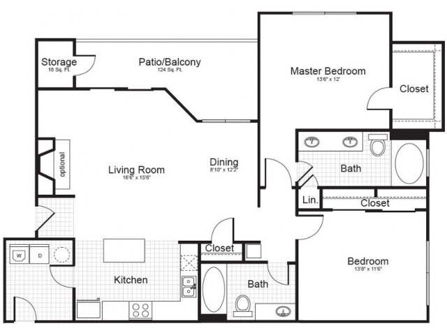 University Area Apartments | Addison Park
