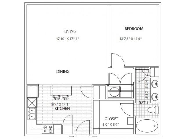 Floor Plan 4 | Parkside at Firewheel