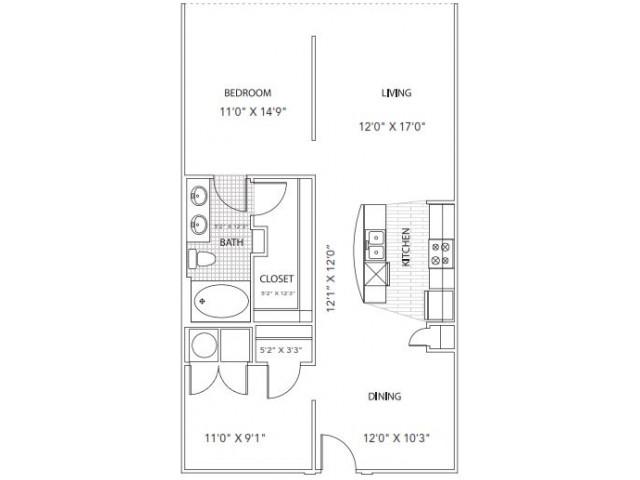 Floor Plan 5 | Parkside at Firewheel