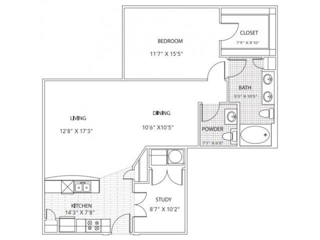 Floor Plan 6 | Parkside at Firewheel