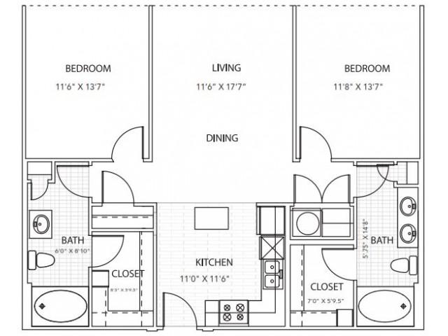 Floor Plan 7 | Parkside at Firewheel