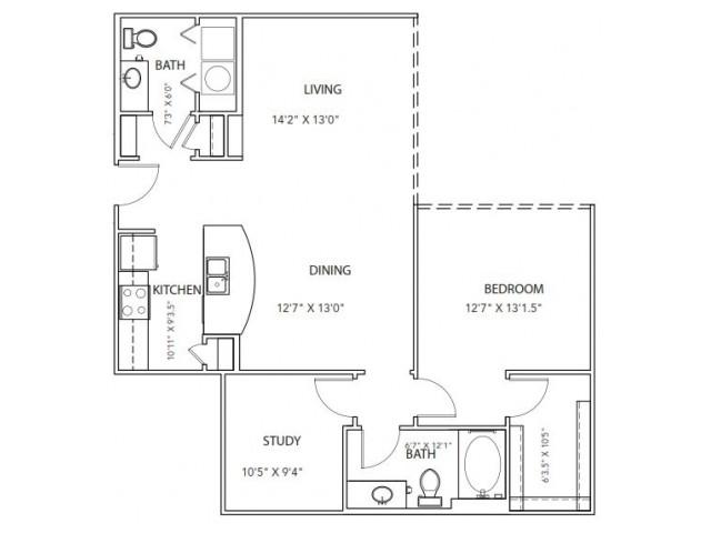 Floor Plan 20 | Parkside at Firewheel