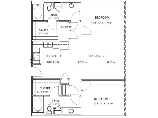 Floor Plan 22 | Parkside at Firewheel