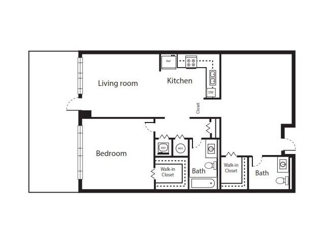 2 Bedroom Floorplan | Soleste West Gables 8