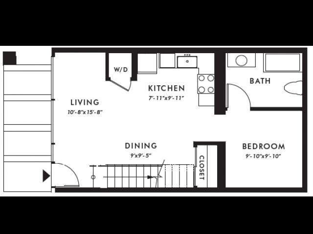 Floor Plan | Edison 15