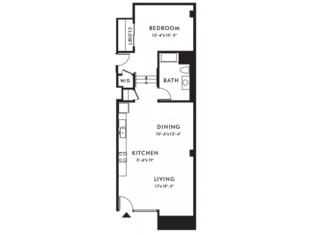 Floor Plan | Edison 24