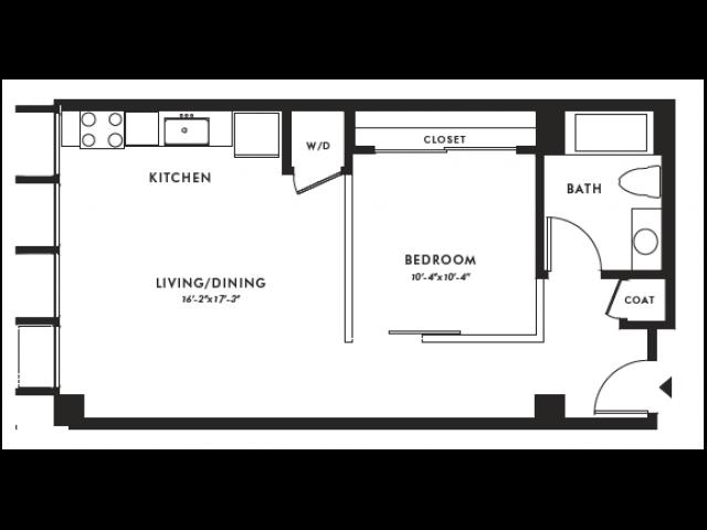 Floor Plan | Edison 29