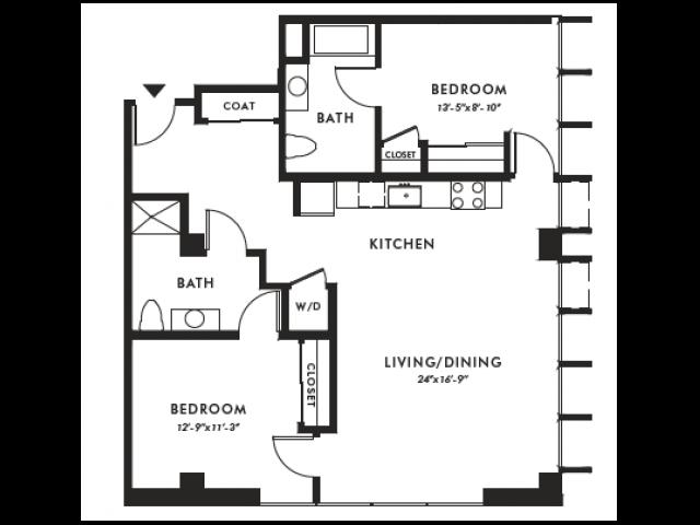 Floor Plan | Edison 38