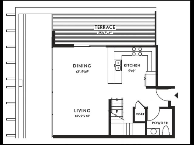 Floor Plan | Edison 40