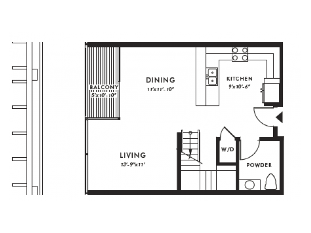 Floor Plan | Edison 43