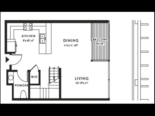 Floor Plan | Edison 49