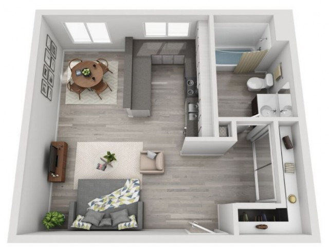 Floor Plan | Candlewood Apartments