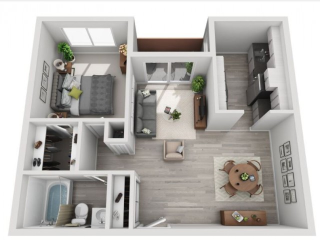 Floor Plan 1 | Candlewood Apartments