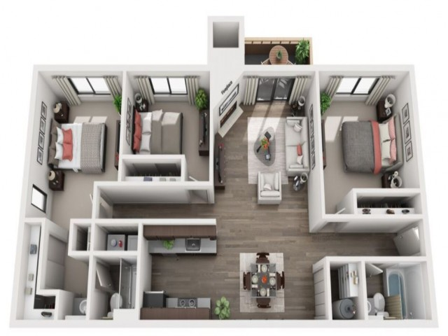 Floor Plan 4 | Taluswood
