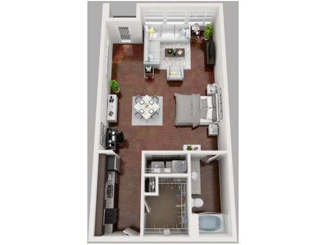 Floor Plan 8 | Apartments Dallas TX | South Side Flats