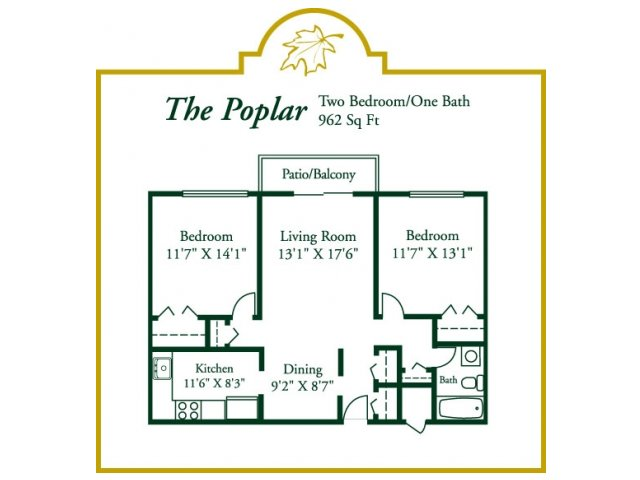Floor Plan 4 | Woodview at Randolph
