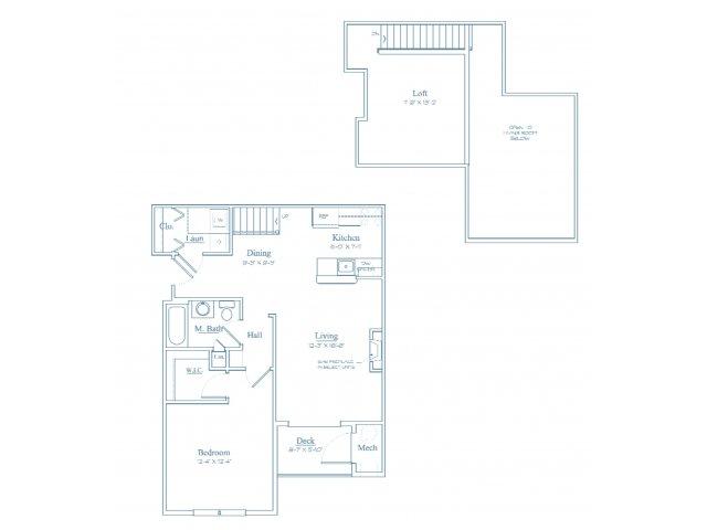 Floor Plan 4 | Bedford Massachusetts Apartments | Heritage at Bedford Springs
