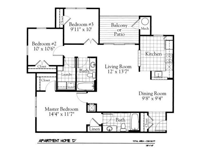 Floor Plan 5 | The Gates of Owings Mills