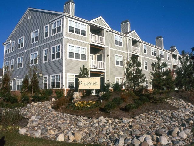 Exterior View Of Our Beautiful Riverscape Apartments In Odenton MD